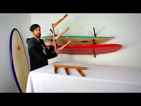 Surfboard Rack | Triple Wood Cor | StoreYourBoard