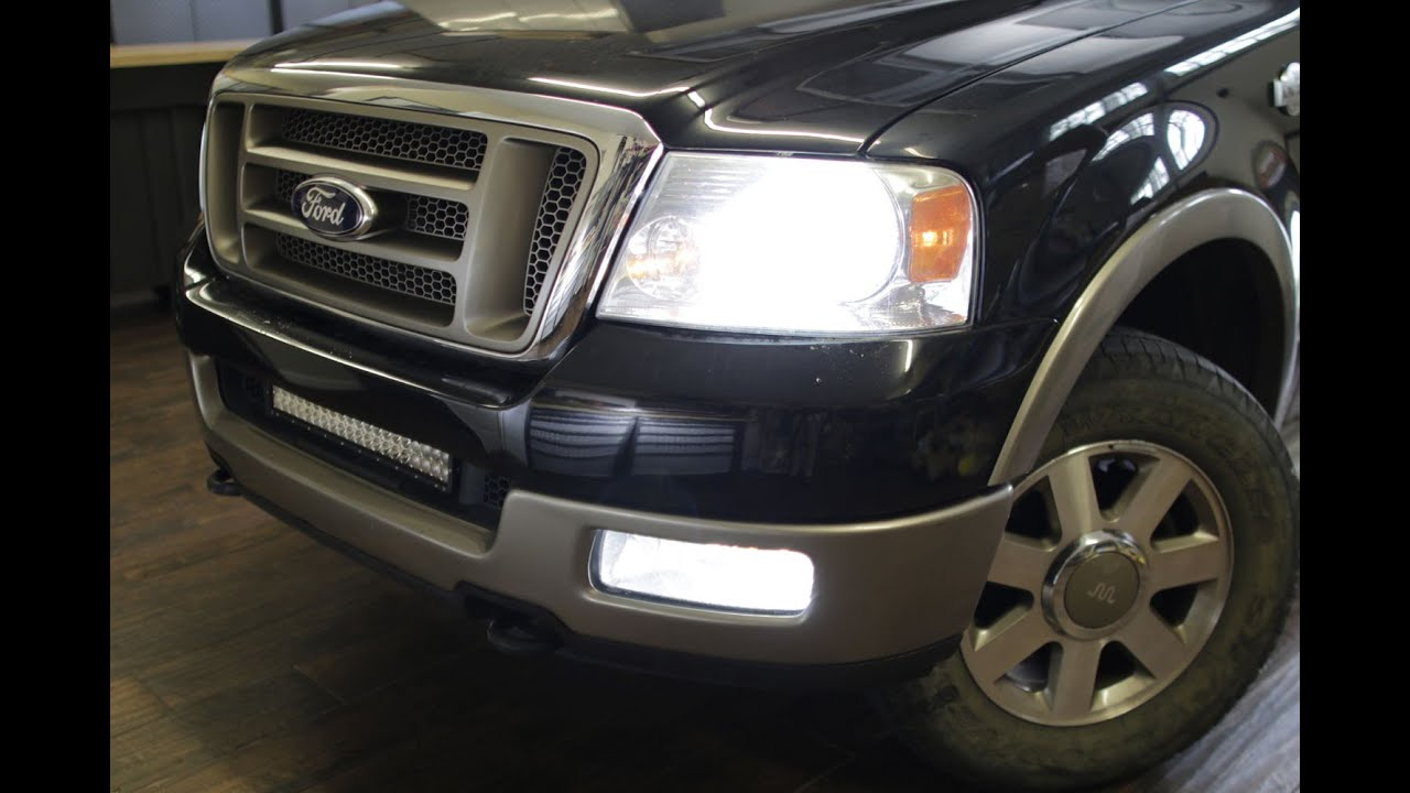 F150leds Cree Led Headlight F150 System 2004 08 How To