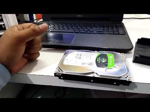 How to use laptop/desktop hard disk as external hard drive or connect sata to usb port