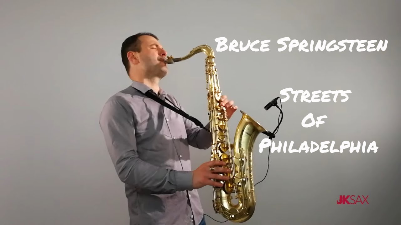 Saxophonist Bruce Springsteen