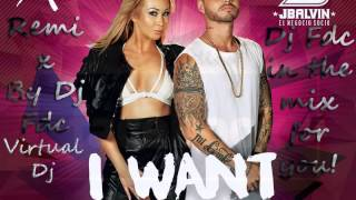 Xonia   I Want Cha ft  J  Balvin[original remix by Dj FDC]