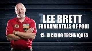 APA - Lee Brett Billiard Instruction Series - Pool Lesson 15 - How to Kick