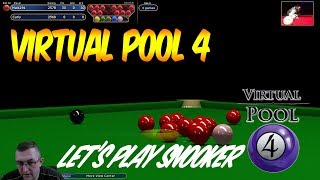 Virtual Pool 4 | #55 | Snooker vs Curley | Instructional VP4 Tuition with Mal255