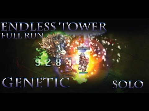 Slyk Live Stream: Endless Tower Full Run 172 Genetic!