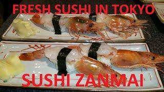 Sushi Zanmai Shibuya Tokyo Japan 2016