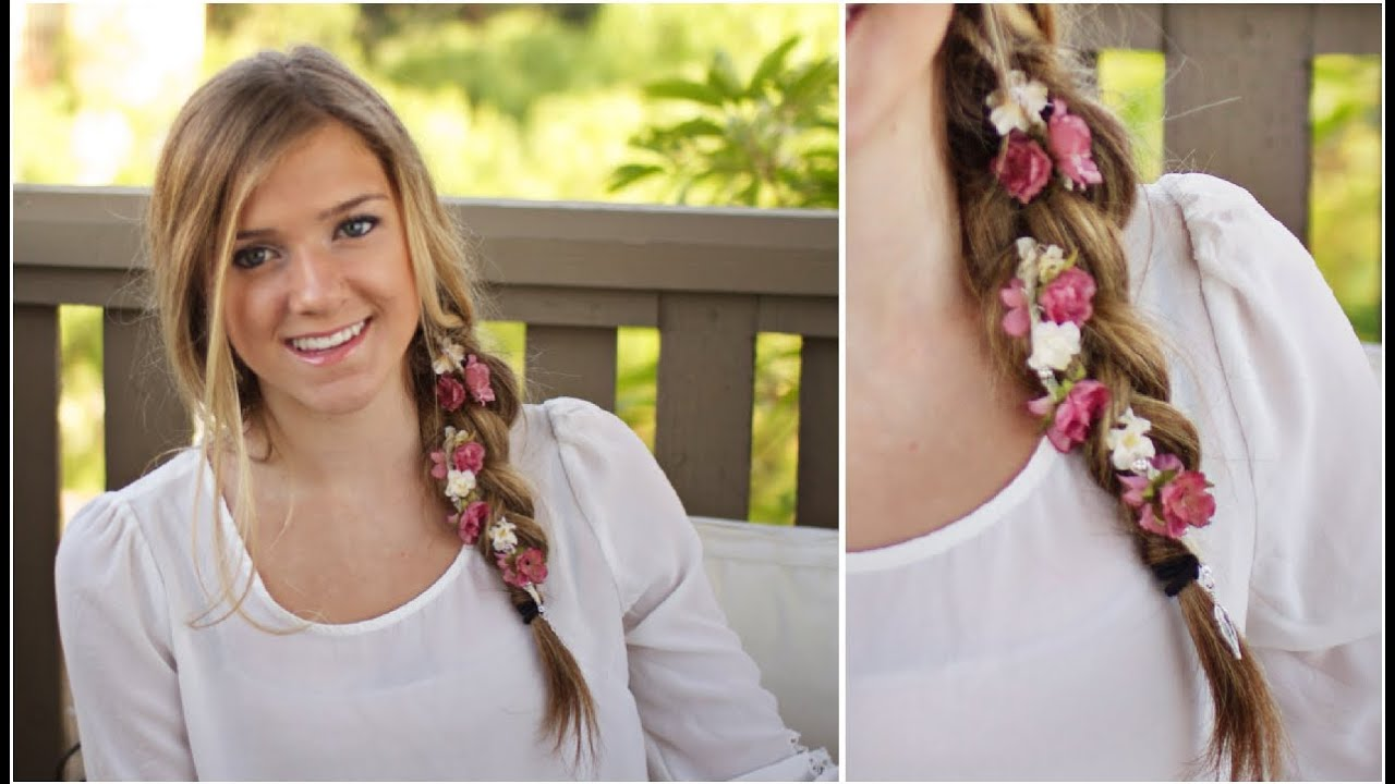 Diy summer hair accessories youtube solutioingenieria Image collections