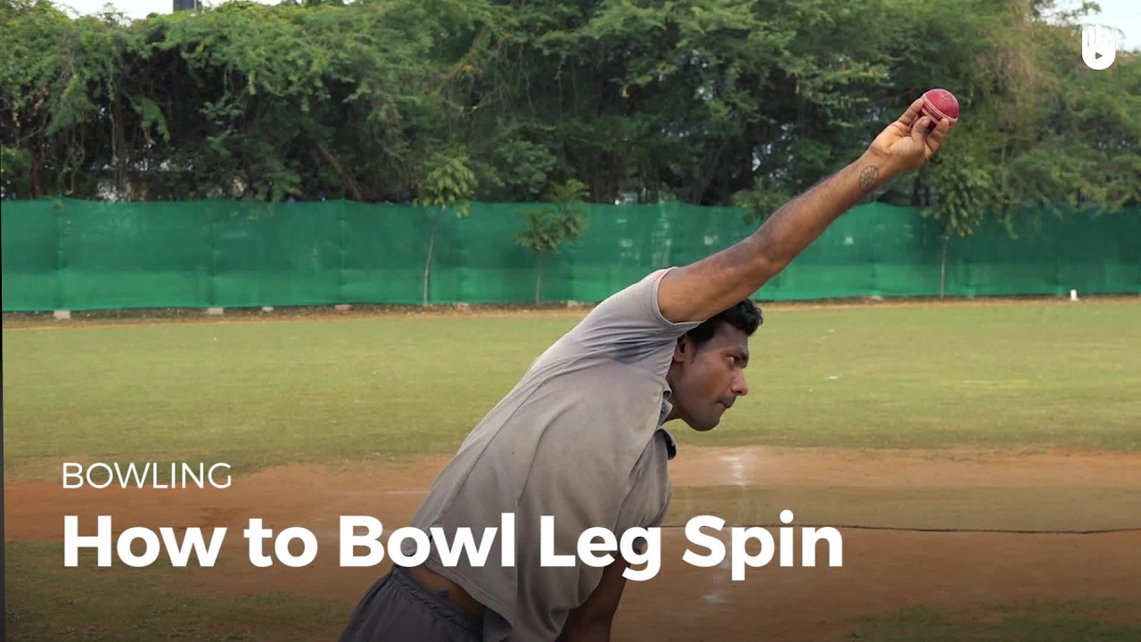 How to Bowl a Leg Spin | Cricket