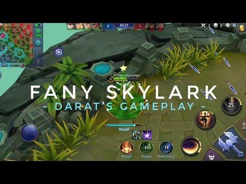 I GOT A FANNY SKYLARK SKIN !! - DARAT FANNY'S GAMPELAY