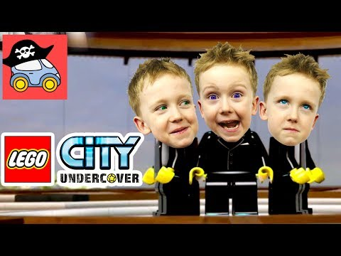 🚓 Lego City Undercover #22 ОГРАБЛЕНИЕ УСАДЬБЫ в Лего Сити Прохождение игры Жестянка