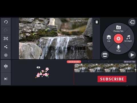 KineMaster cơ bản - Cách cắt, ghép và sắp xếp