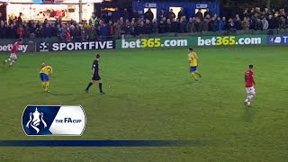 Warrington Town 1-0 Exeter City | Goals & Highlights