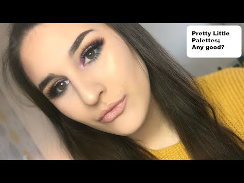 Review of the Pretty Little Palettes by Misfit Cosmetics!