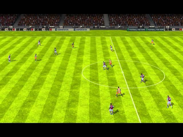 FIFA 14 Android - mars916 VS Aston Villa