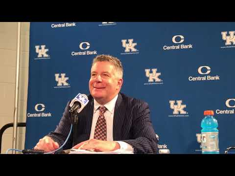 Bruce Pearl Post Game Press Conference