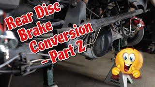 Rear Disc Brake Conversion Part 2 - 3rd Gen 4Runner ('96-'02)/1st Gen Tacoma ('96-'04)