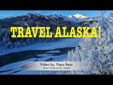 Driving ALASKA! Window VIEW!