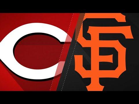 Belt leads power surge in Giants' 10-7 win: 5/4/18