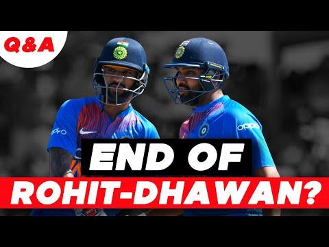 The END of ROHIT-DHAWAN partnership? | #AapKiVani | Cricket Q&A