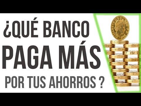 ¿Qué banco paga más por tus ahorros? | Simulador en línea ( video )