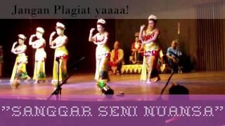 """Tari Tradisional Kalimantan Selatan """"Tari Watun Banjar"""". Sanggar Seni Nuansa Kota Banjarmasin."""
