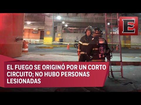 Incendio en centro comercial Plaza Satélite