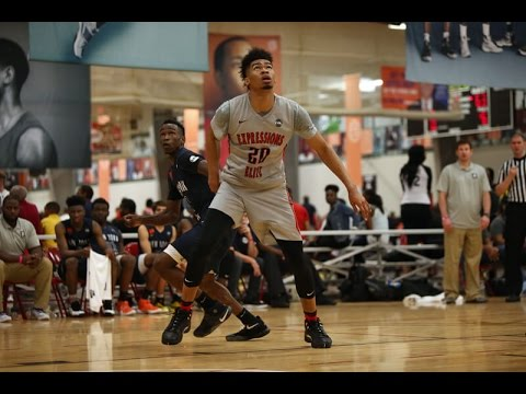 Nick Richards Nike EYBL highlights