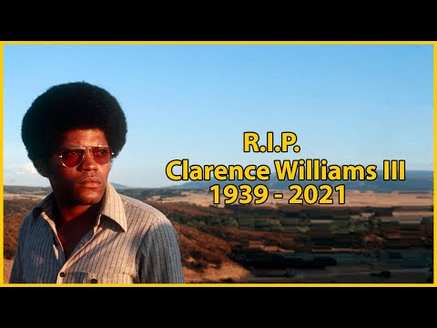 Clarence Williams III Dead: 'Mod Squad' Star Dies At 81 Thank You My Brother. R.I.P.