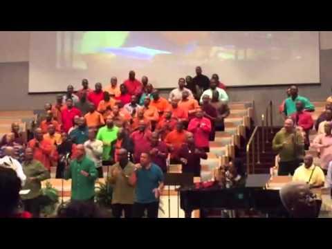 New Antioch Baptist Church of Randallstown Mass Men's Choir
