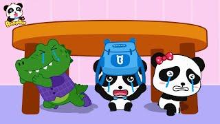 ★NEW★じしんだ!どうする!   じしんのときの おやくそく   子ども向け安全教育   赤ちゃんが喜ぶアニメ   動画   BabyBus