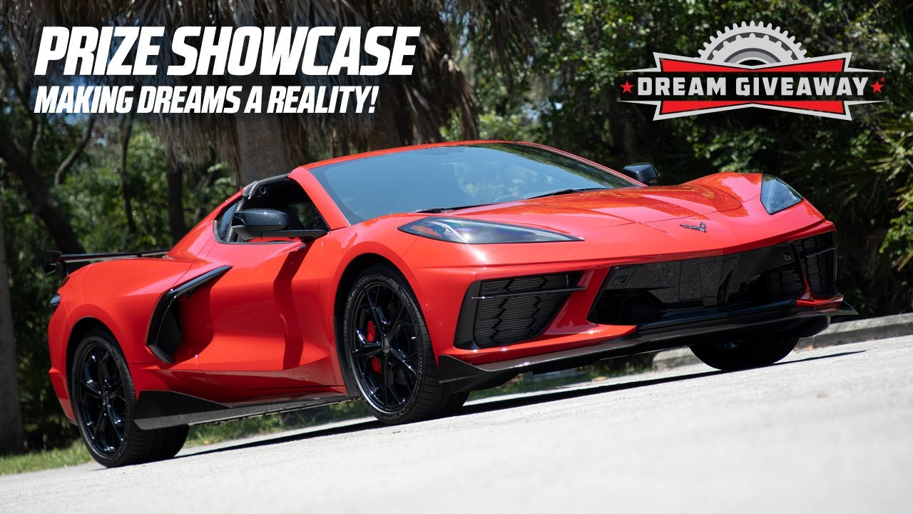Dream Giveaway Prize Showcase- Making Dreams a Reality Since 2008!