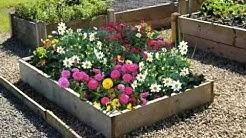 30 Beautiful Cheap, Raised Flower Bed Design Ideas, Diy Garden Flower Bed Ideas