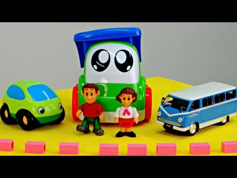 Машины сказки. Логопедические занятия для малышей. Наземный транспорт: