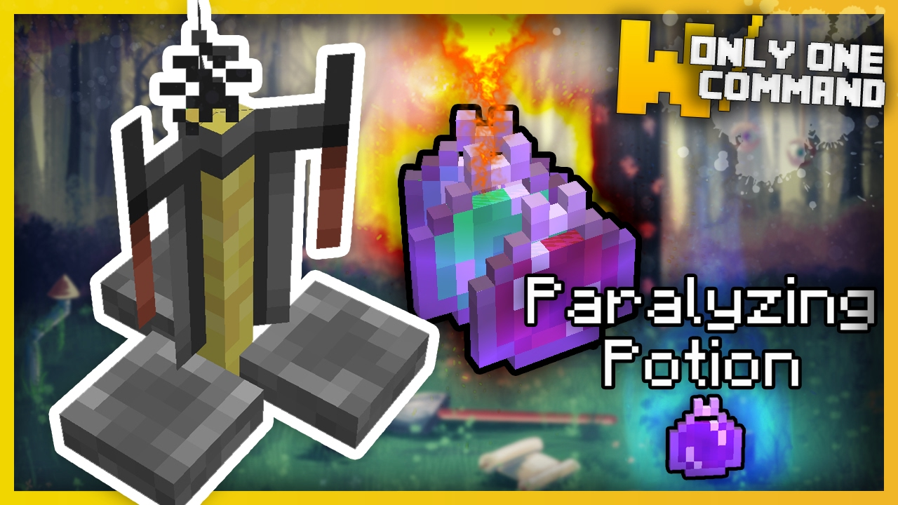 Minecraft - Advanced Potions With Only One Command! (super powerful potions)