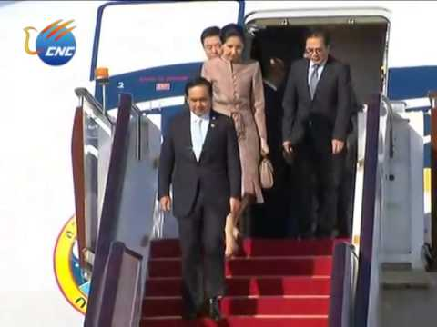 APEC: Thai Prime Minister Gen. Prayuth Chan-ocha Arrives in Beijing