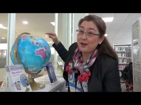 Take a Tour of Korea's Libraries! (영통, 광교, 할림 도서관) | Hippie Korea Tour