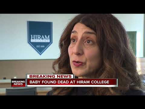 Baby found dead in dorm bathroom at Hiram College