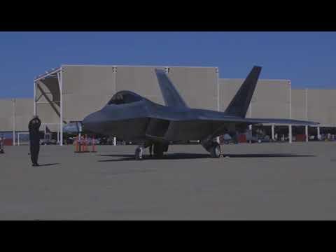 DFN: 2018 F-22 Raptor Demo Team Media Kit, TUCSON, AZ, UNITED STATES, 02.26.2018