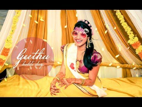 The Best Haldi Video Ever -Geethu's Haldi Moments