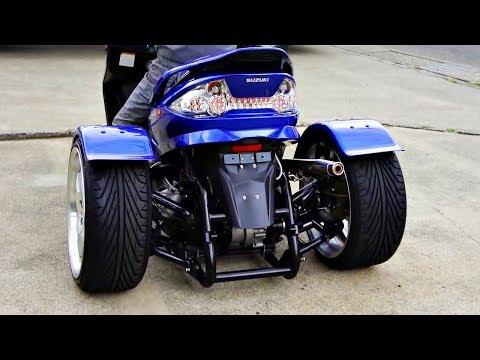 😵 Скутеры - Трайки  (Трициклы) 👌!