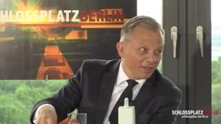 Schlossplatz Berlin: Matthias Kröner, CEO Fidor Bank, über Datensicherheit