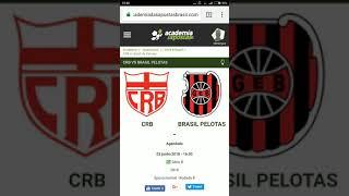 CRB X Brasil de Pelotas Análise e TIP Gratuita