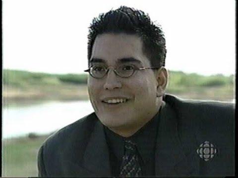 First Nations Party Of Saskatchewan's Brendan Cross CBC 2000