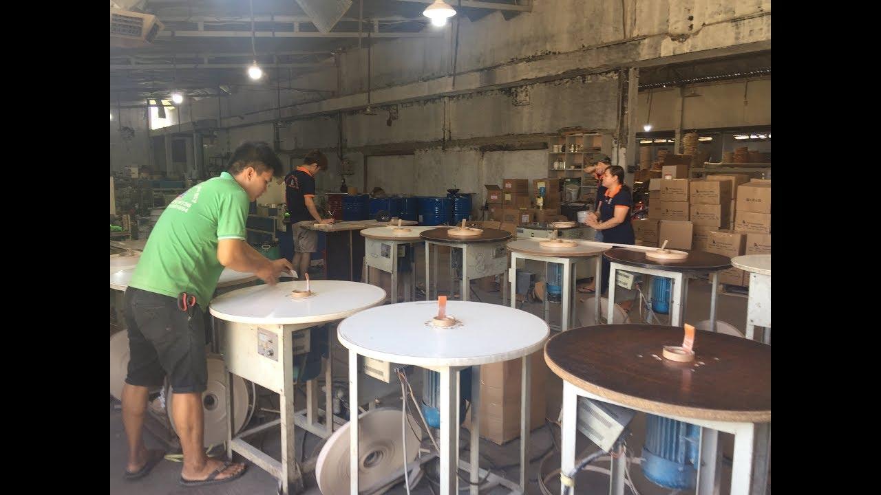 Nhà máy sản xuất nẹp nhựa PVC, chỉ nhựa PVC