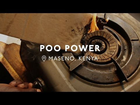 17-Year-Old Kenyan Creates Energy From Human Waste