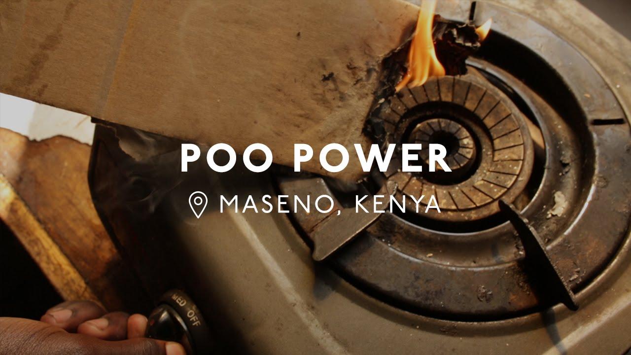 17-Year-Old Kenyan Creates Energy From Human Waste