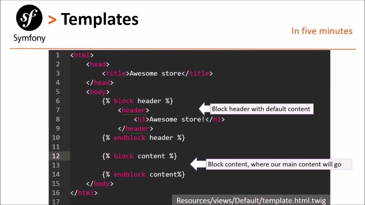 Symfony 2 # Episode 4: twig templates and views - YouTube