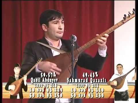 Qabil Abdiyev Ozan musabiqesinin qalibi
