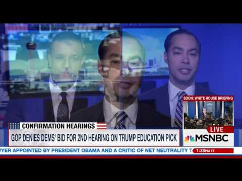"""Julian Castro:  Not Taking """"Anything Off the Table"""" for 2020"""