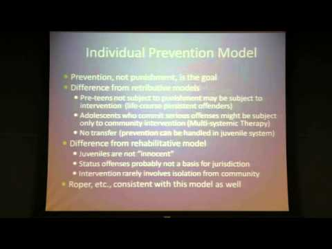 Contemporary Debates in Criminal Justice: The Class Decides (Part Two: 11/7/12)