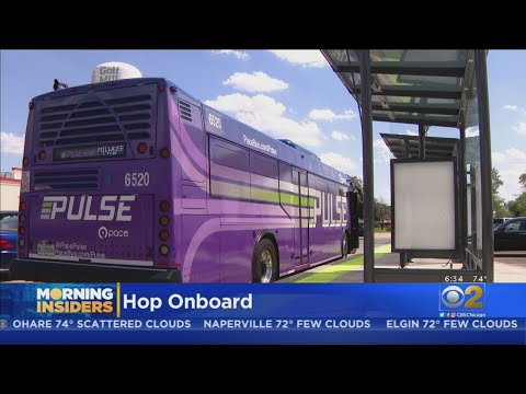 Pace Launching New Pulse Line Rapid Transit In August